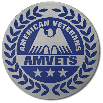 American Veterans Stainless Steel Plaque