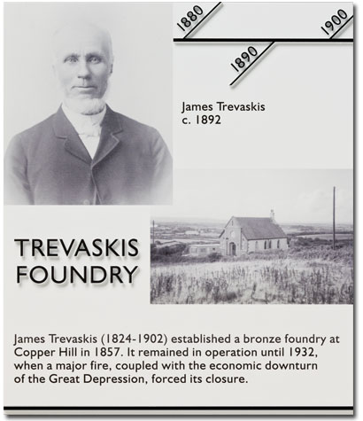 Trevaskis Foundry Giclee Plaque