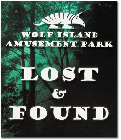 Wolf Island Giclee Plaque
